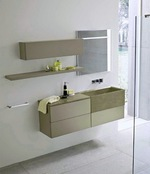 шкафове за баня от pvc солидни