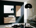 шкафове за баня от pvc модернистични