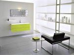 модернистични  шкафове за баня от pvc