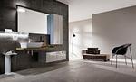 модернистични  мебели за баня със стенно монтиране