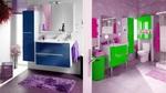 модернистични  свежи мебели за баня