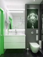модернистични  луксозни мебели за баня