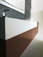 3д проект с визуализация на шкафове за баня солидни