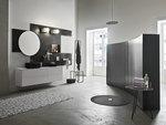 солидни  мебели за баня с разчупени форми