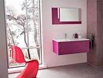 мебели за баня с разчупени форми солидни