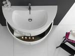 мебели за баня с разчупени форми модернистични
