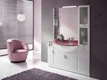 модернистични  овални шкафове за баня