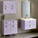 модернистични  нестандартни мебели за баня