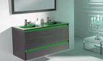 солидни  шкафове за баня дървесен цвят