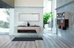 модернистични  шкафове за баня технически фурнир