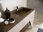 шкафове за баня технически фурнир солидни