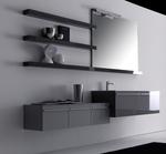 мебели за баня супер гланц модернистични