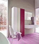 солидни  шкафове за баня по размер