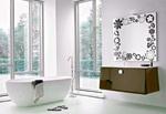 модернистични  шкафове за баня по размер