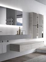 солидни  мебели за баня комфортни
