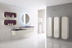 заоблени шкафове за баня солидни