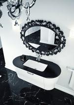 заоблени шкафове за баня първокласни