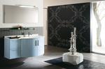 заоблени шкафове за баня модернистични