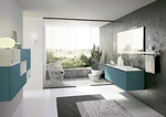 модернистични  дизайн на шкафове за баня