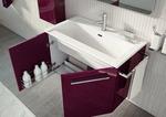 солидни  мебели за баня пвц гланц