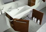 модернистични  мебели за баня пвц гланц