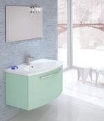 мебели за баня пвц гланц модернистични