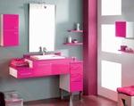 модернистични  мебели за баня от pvc