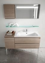модернистични  мебели за баня от полистирол
