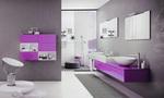 солидни  мебели за баня от полистирол