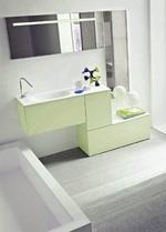 мебели за баня с уникален външен вид модернистични
