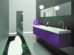 мебели за баня мат солидни