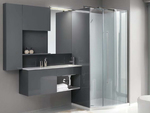 изработка на шкафове за баня модернистични