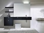 модернистични  изработка на шкафове за баня