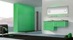 солидни  конзолни шкафове за баня