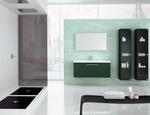 модернистични  мебели за баня с механизми blum