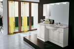 мебели за баня за големи бани солидни