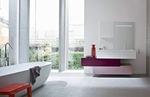 влагоустойчиви шкафове за баня модернистични