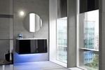 качествени шкафове за баня модернистични