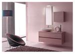 първокласни мебели за баня дървесен цвят