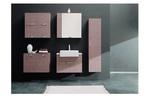 мебели за баня дървесен цвят първокласни