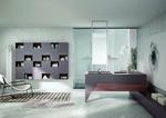 мебели за баня дървесен цвят модернистични