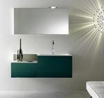 мебели за баня дървесен цвят солидни