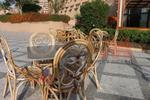 Метална основа за маса за градини