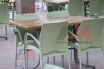 Стилна стойка за маса за заведение