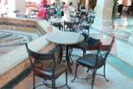 Верзалитов плот за маса за кафене