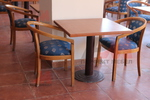 Дизайнерска база за бар маса за ресторант