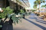 Пластмасова зелена маса за бар