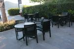 Пластмасова маса за хотел за бар