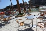 Метална маса за ресторанти за открити пространства