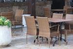 Стилна стойка за бар маса за хотел